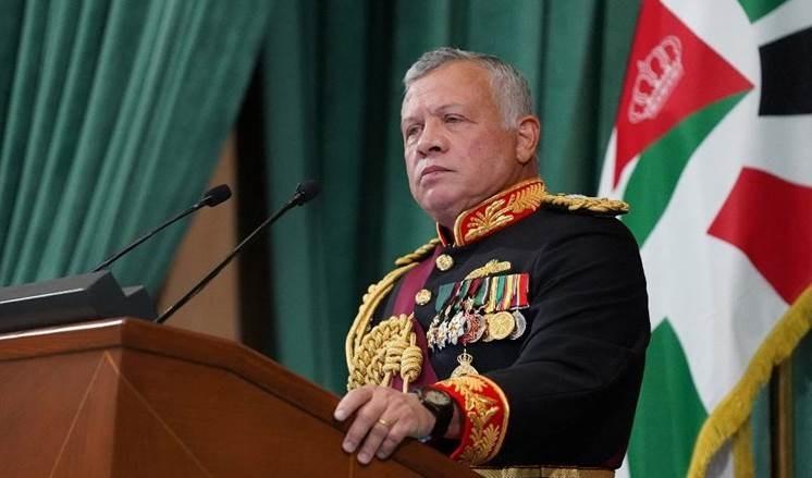 Rey Abdullah II de Jordania.