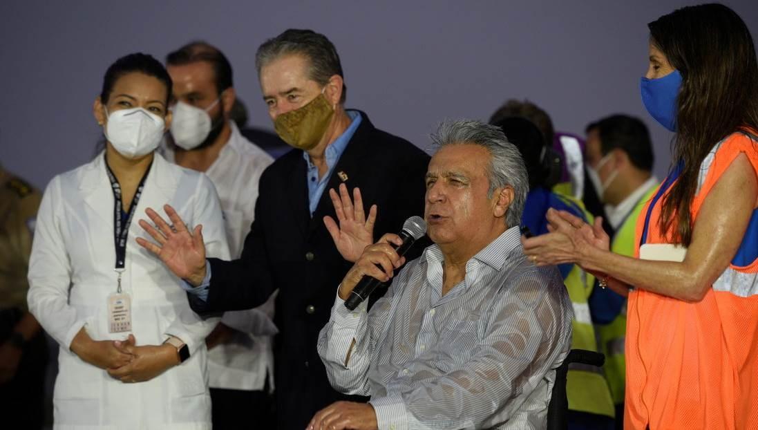 Lenin Moreno: ofende y luego se disculpa con una mujer de su país