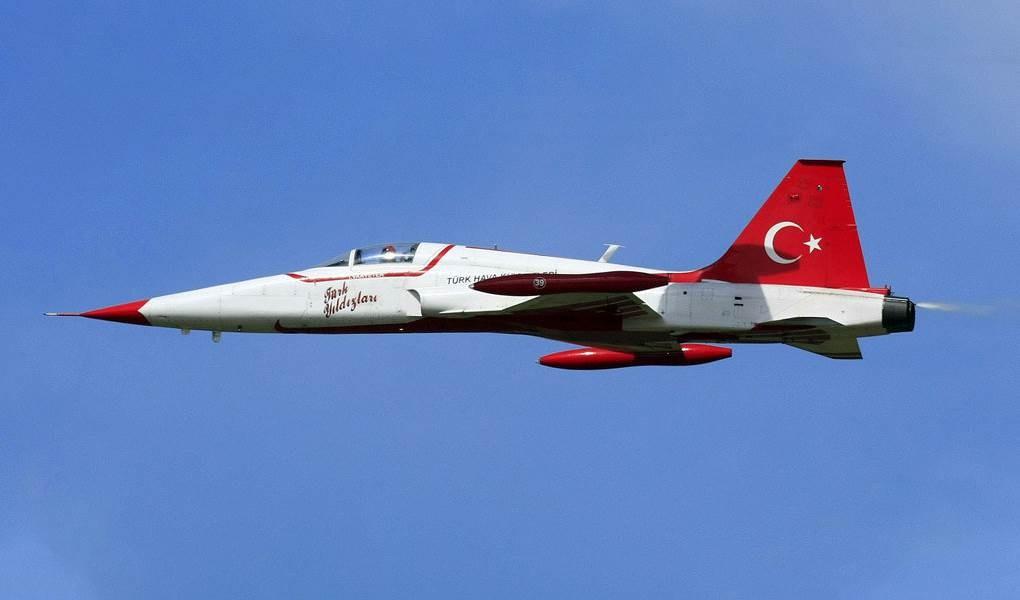 Un caza NF-5.