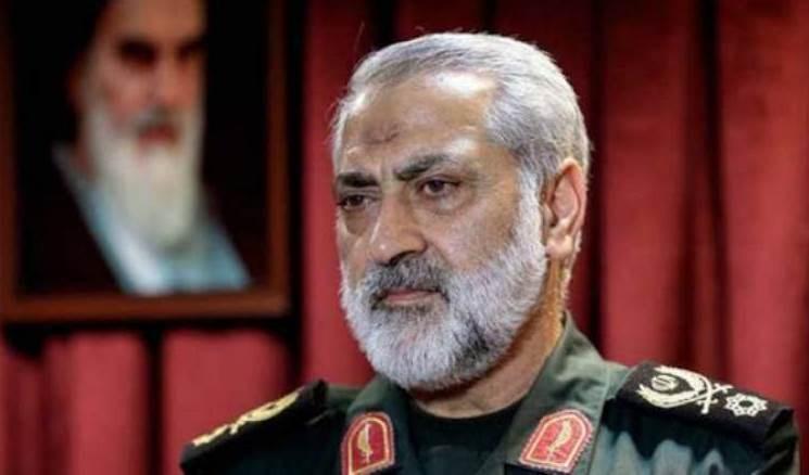 El portavoz de las fuerzas armadas iraníes, el mayor general Abu al-Fadl Shikaraji.