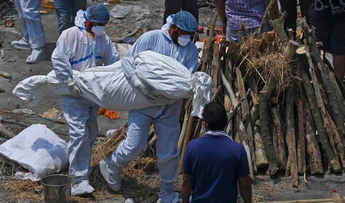 India vive crisis sanitaria sin precedentes a causa de la Covid-19