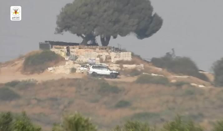 Brigadas de Al Quds publican video del ataque un enclave militar israelí.