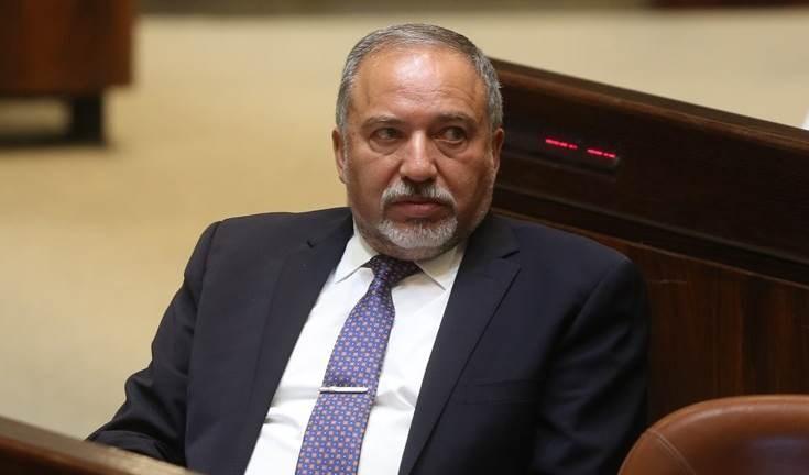 Avigdor Lieberman, exministro de seguridad y jefe del partido Israel Beitenu.