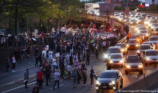 Manifestaciones de apoyo a palestinos recorren el mundo