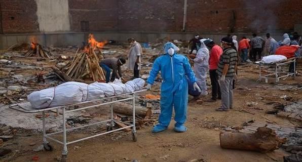 India: Cifra más alta de muertes diarias por Covius-19