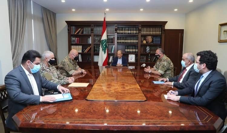 Aoun ratifica derecho de El Líbano a invertir sus recursos naturales.