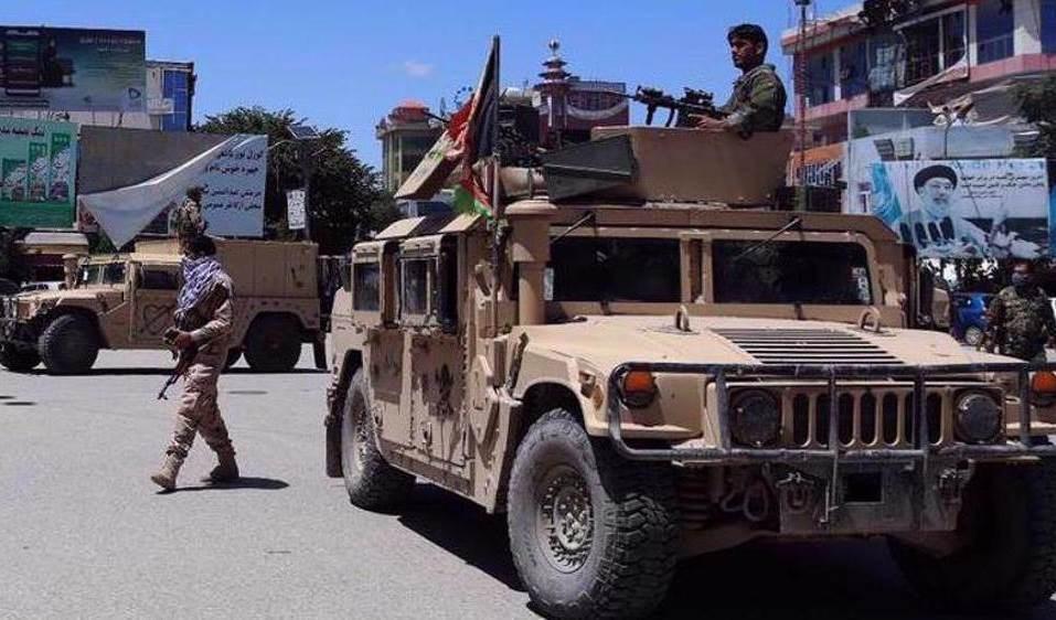 Miembros de Ejército afgano.