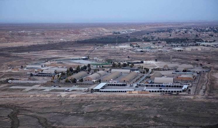 Atacan con cohetes la base aérea de Ain al-Assad en Iraq.