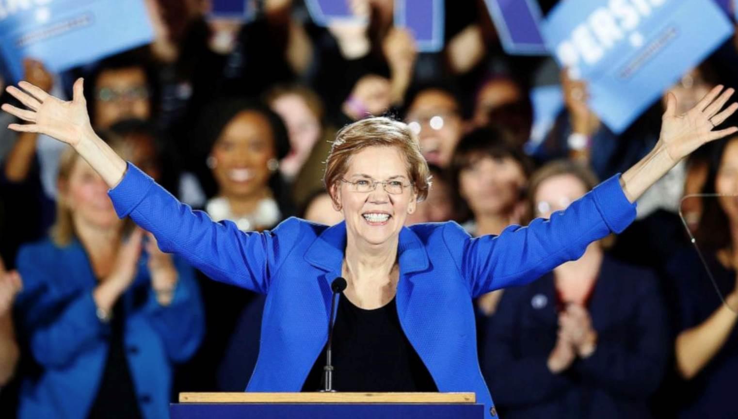 Elizabeth Warren vuelve al ruedo por la presidencia de EEUU