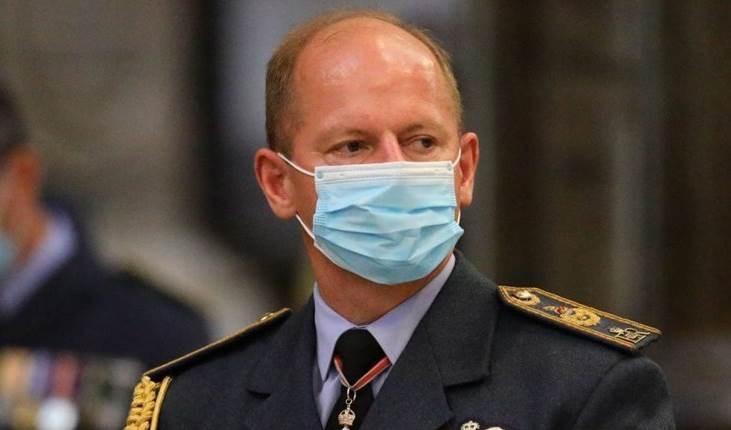 El comandante de la Fuerza Aérea Británica, Mike Bridgestone.