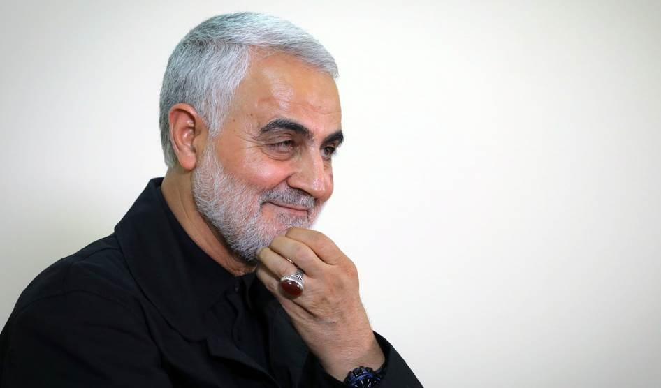 El comandante iraní, mártir teniente general Qasem Suleimani.