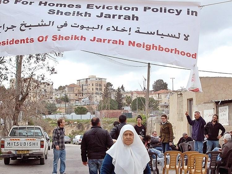Abbas exige remisión del expediente del barrio de Sheikh Jarrah  a la Corte Penal Internacional.