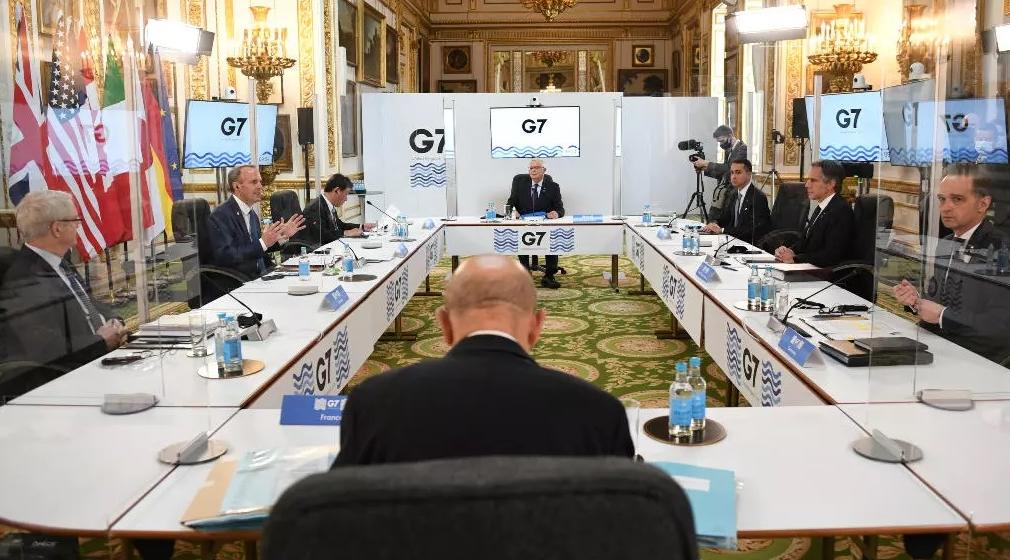Primera reunión presencial del G7 en pandemia
