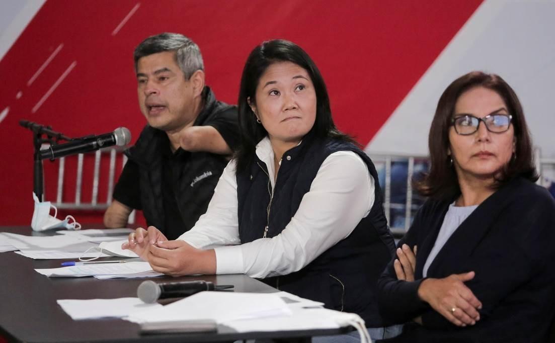 Piden prisión preventiva para Keiko Fujimori