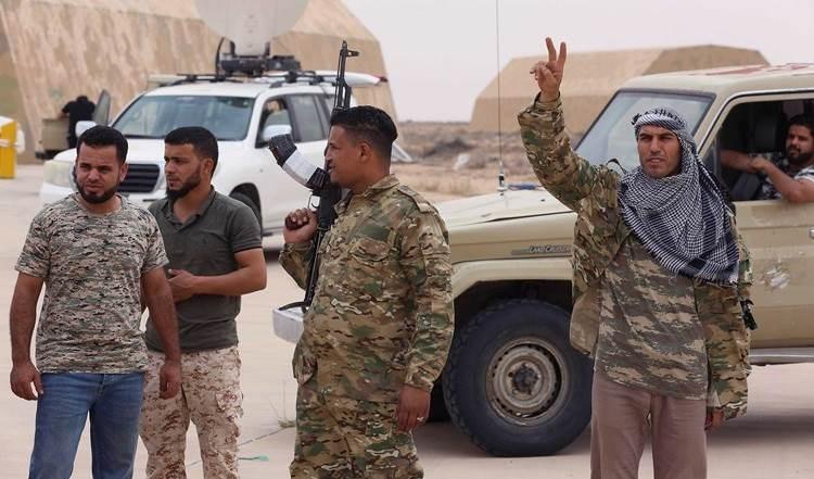 Fuerzas de Haftar atacan posiciones de Daesh en el suroeste del país.