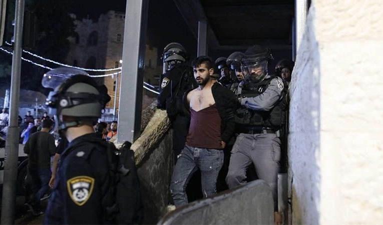Régimen israelí arrestó a más de 3 mil 500 palestinos y activistas desde mediados de abril.
