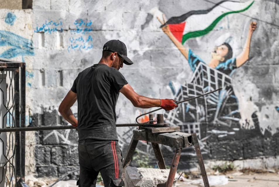 -Está claro que la aceleración egipcia en la reconstrucción apunta primero a contener la tensión (Foto: AFP)