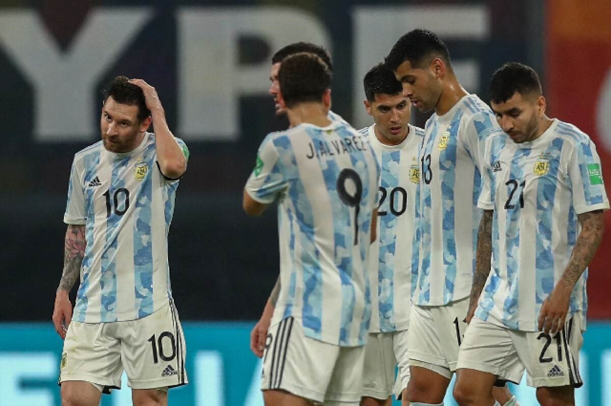 Argentina ocupa segundo puesto de eliminatorias a Qatar 2022