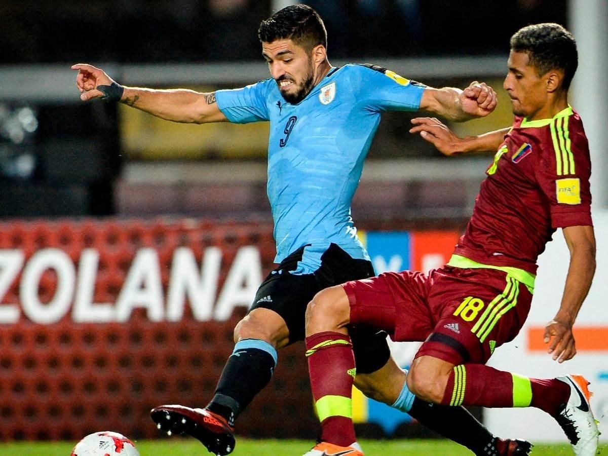 Venezuela y Uruguay empatan sin goles en eliminatoria de fútbol