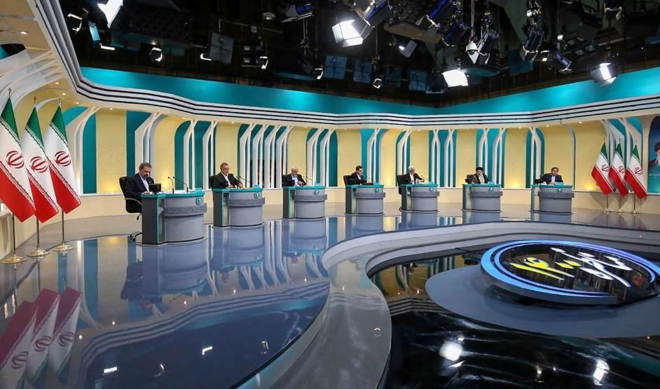Segundo debate de los candidatos a la presidencia iraní.