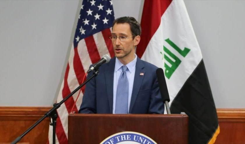 El subsecretario de Estado interino de EE.UU., Joey Hood.