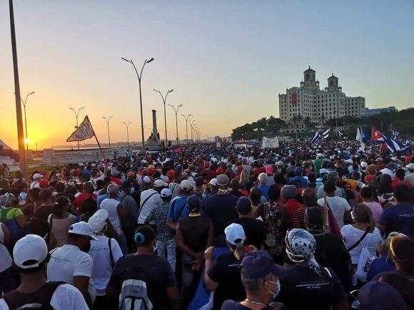 Cuba de amor, de paz, de unidad, de solidaridad. Foto: Cubadebate