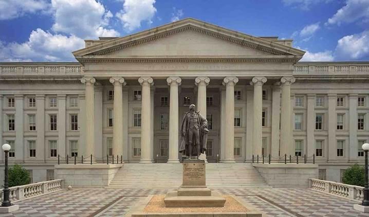 Departamento del Tesoro de los Estados Unidos.
