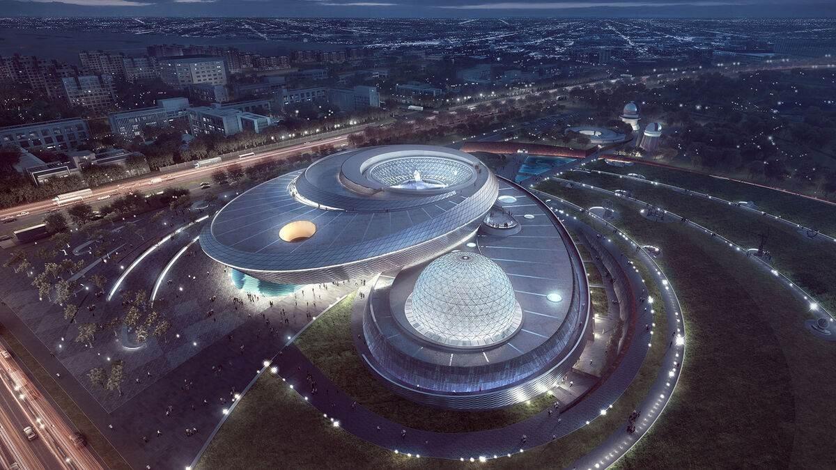 Abre en Shanghái el museo de astronomía más grande del mundo