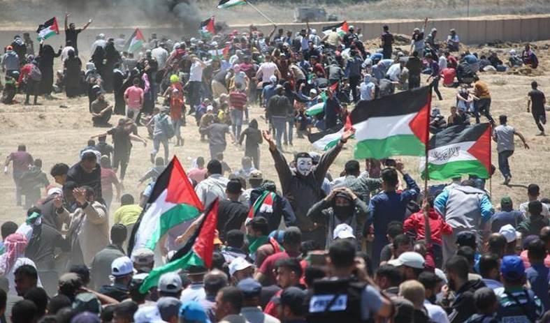 Biden apoya muchas protestas pero no las palestinas