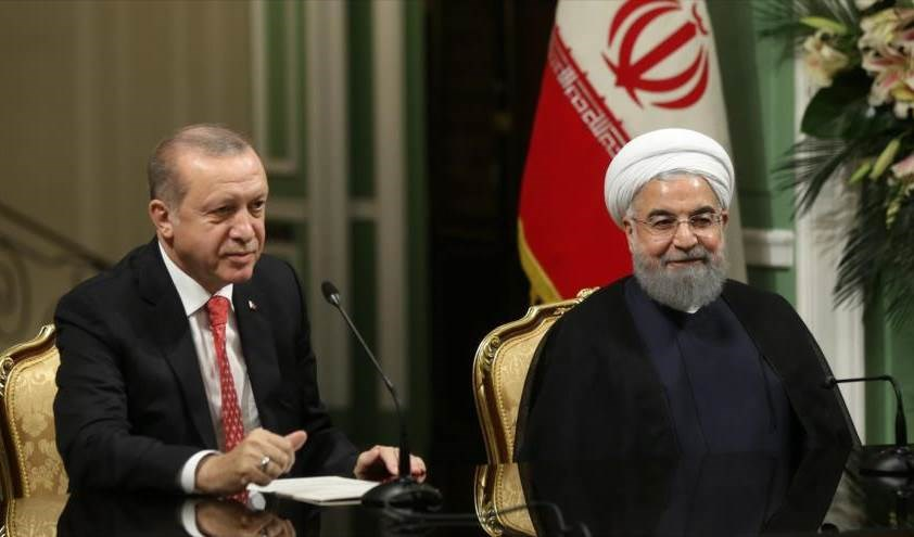 Rouhani: Irán y Turquía son dos grandes potencias de la región.