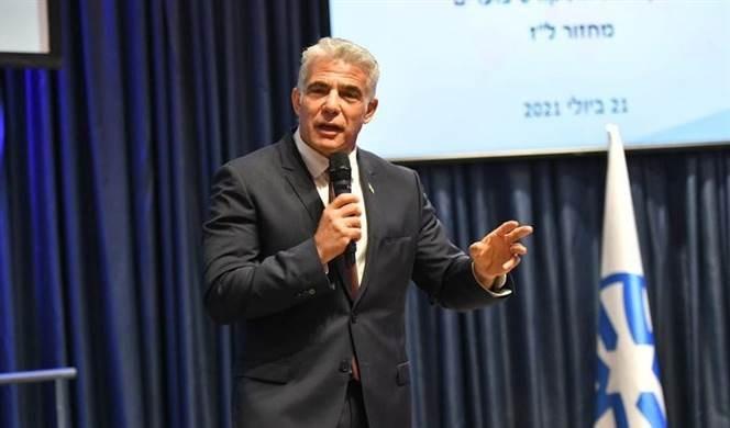 Yair Lapid, ministro de Relaciones Exteriores del Estado israelí.
