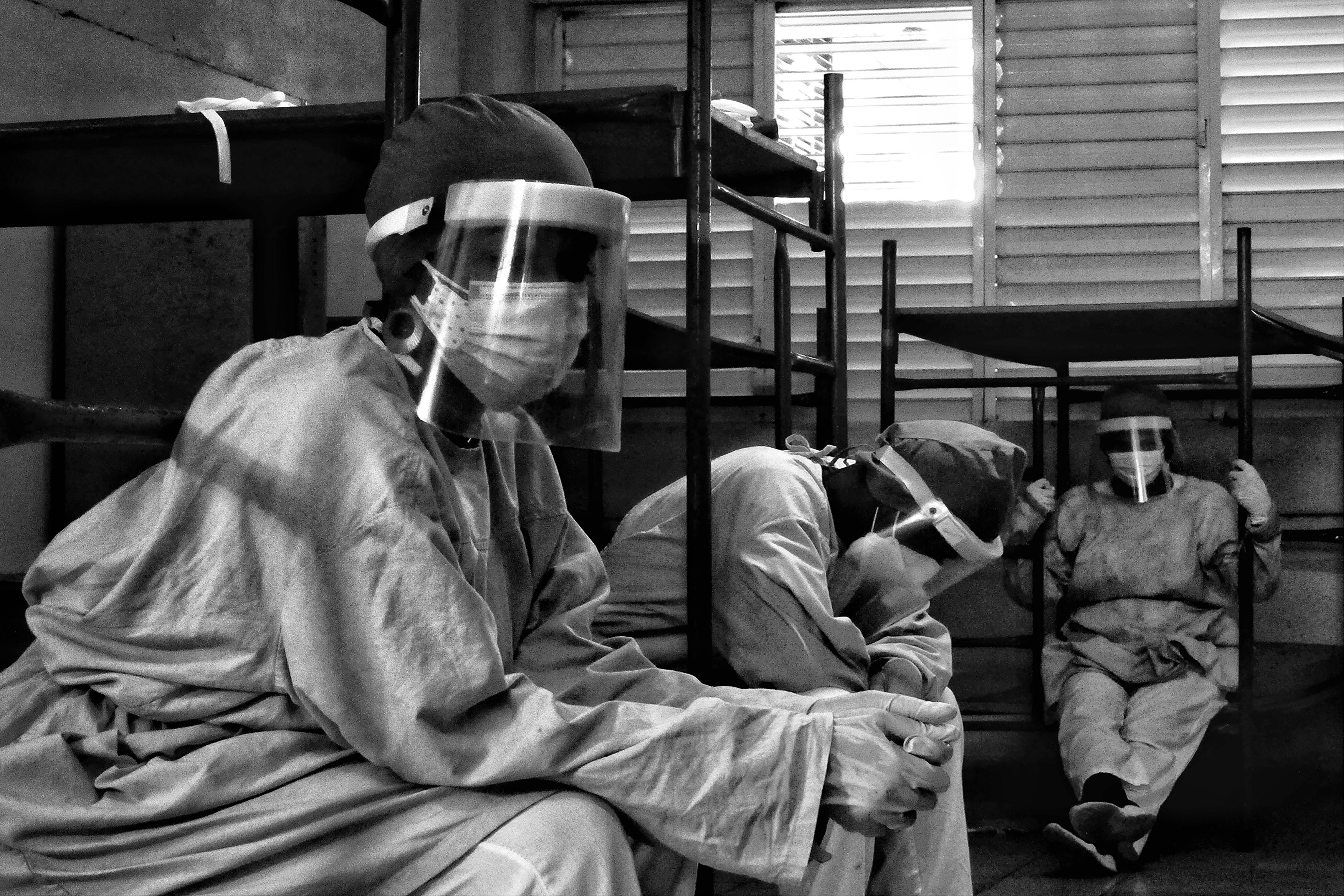 COVID-19: El duelo de lo invisible. Foto: Frank Daniel Rodríguez García
