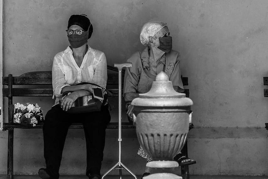 COVID-19: El duelo de lo invisible. Foto: Ernesto Castiñeira