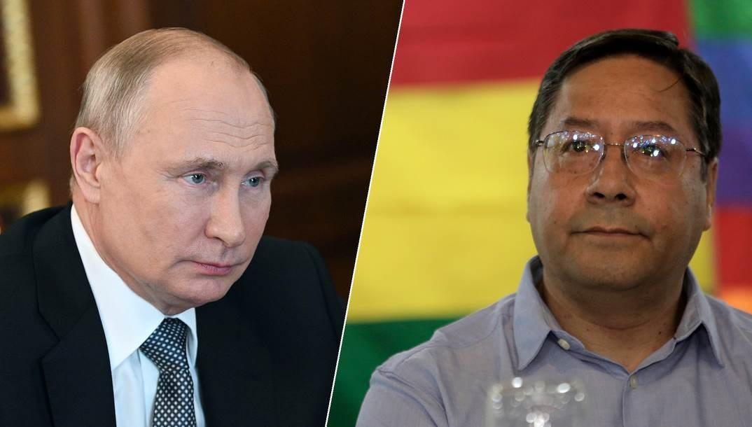 Presidentes de Rusia y Bolivia cnversan sobre acuerdo para suministro de Sputnik V