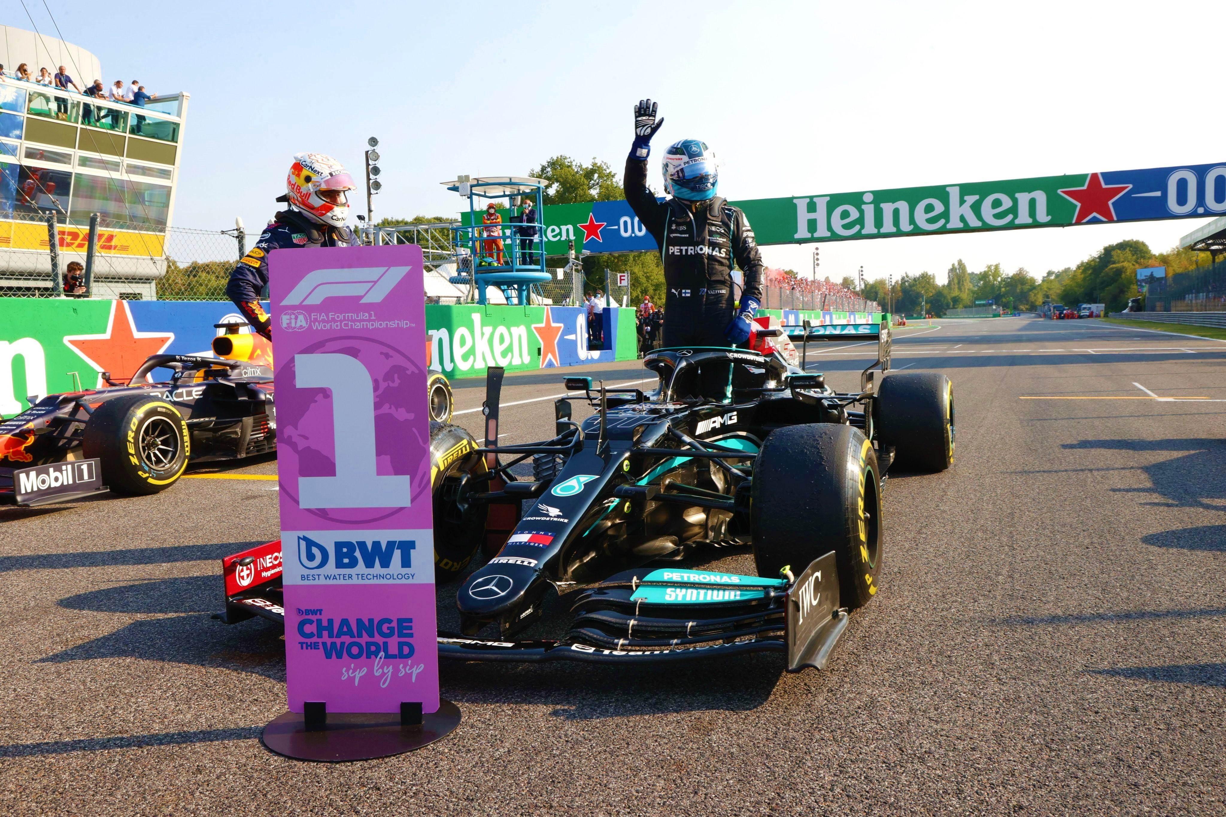 Max Verstappen comandará salida en carrera italiana de Fórmula Uno