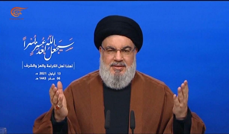 Sayyed Hassan Nasrallah, secretario general de la Resistencia libanesa.