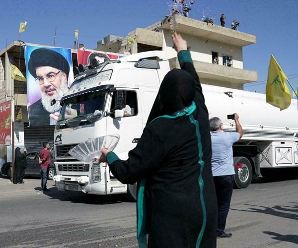 Combustible iraní en El Líbano es golpe de la Resistencia a EE.UU. y aliados locales.