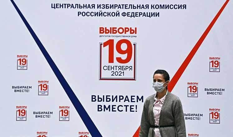 Rusia vota en elecciones de diputados en la Duma Estatal.