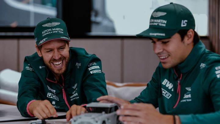 Aston Martin confirma a Vettel y Stroll para 2022