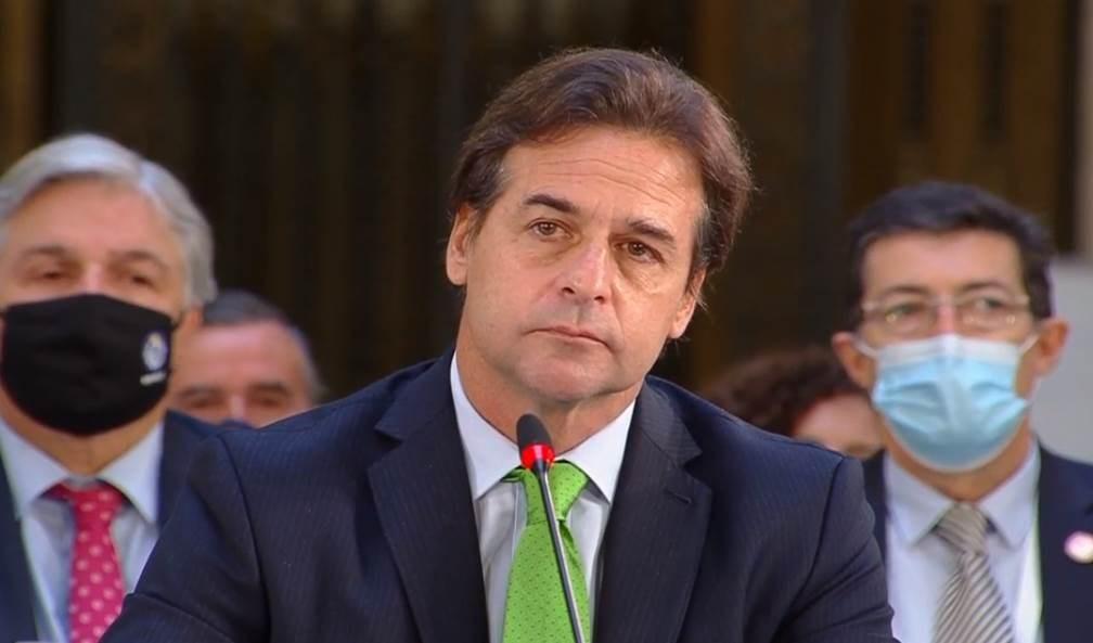 Luis Lacalle Pou, presidente de Uruguay