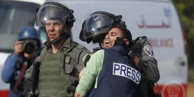 Cifra de violaciones contra periodistas palestinos sigue en aumento