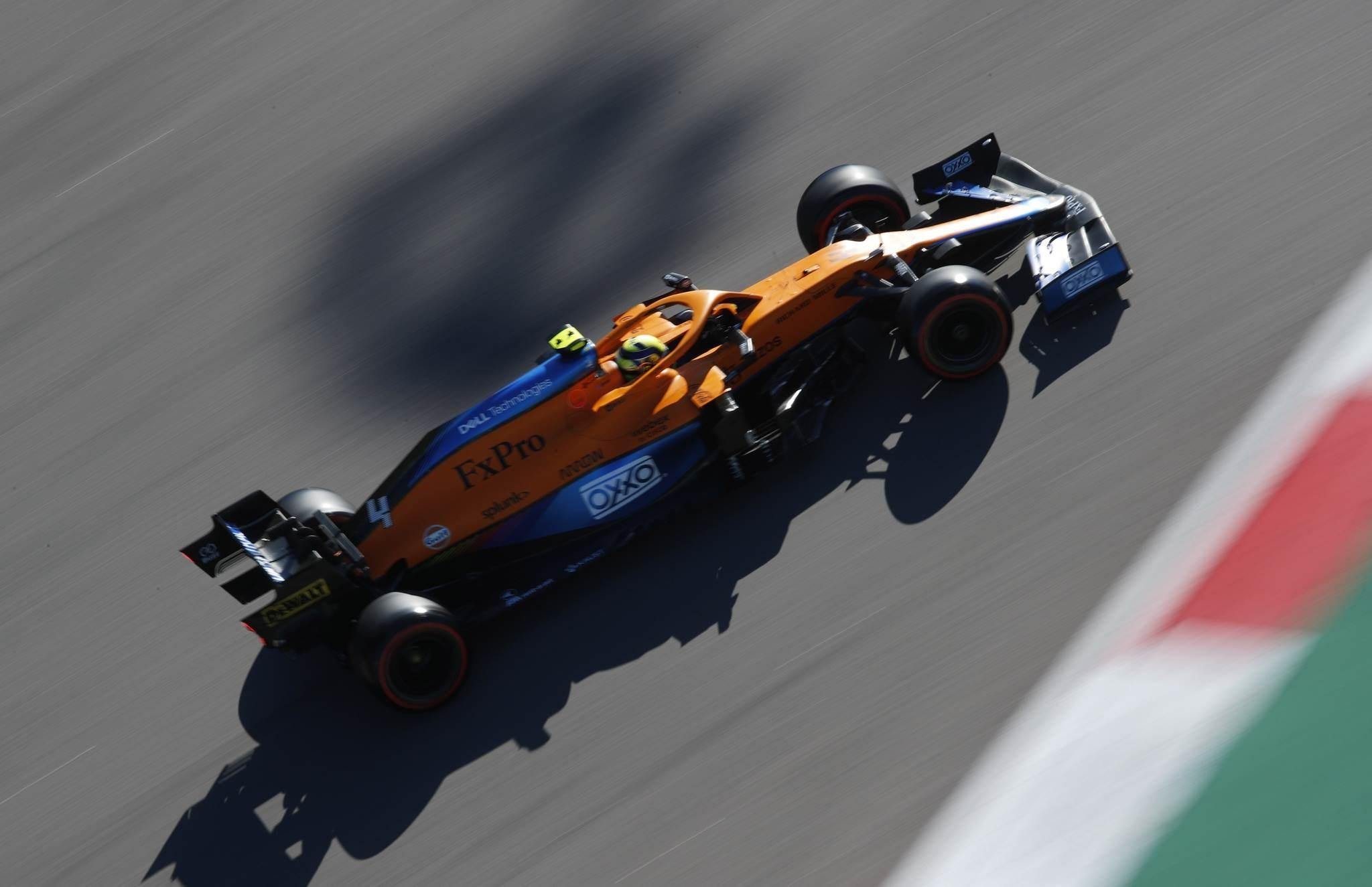 Primera pole para Norris, Hamilton se complica y Mad Max tomará la salida desde el fondo de la parrilla